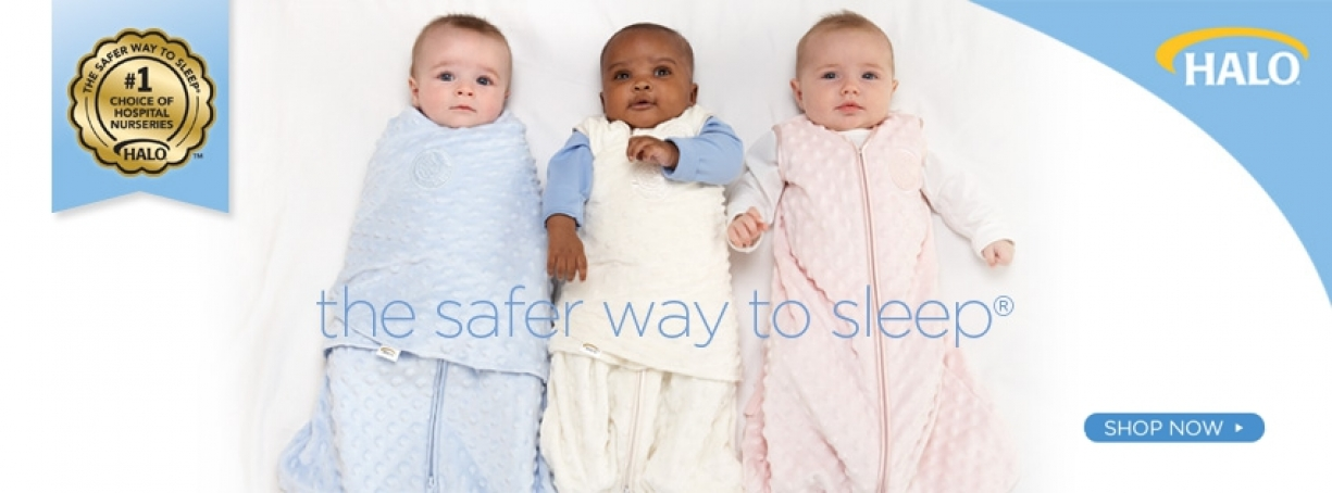 Halo Sleepsack Wearable Blanket - sleep sack, baby sleeping bag, safe sleep
