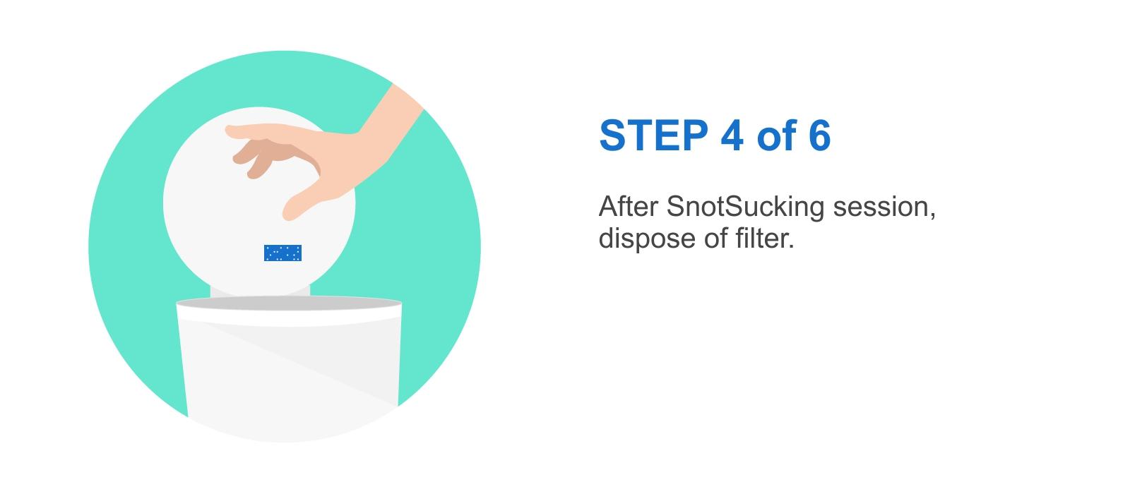Nosefrida Instruction Step 04