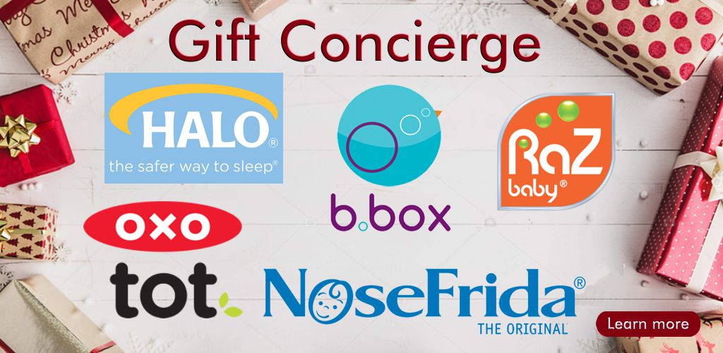 Gift Concierge for OXO, HALO, Razbaby, Nosefrida, bbox